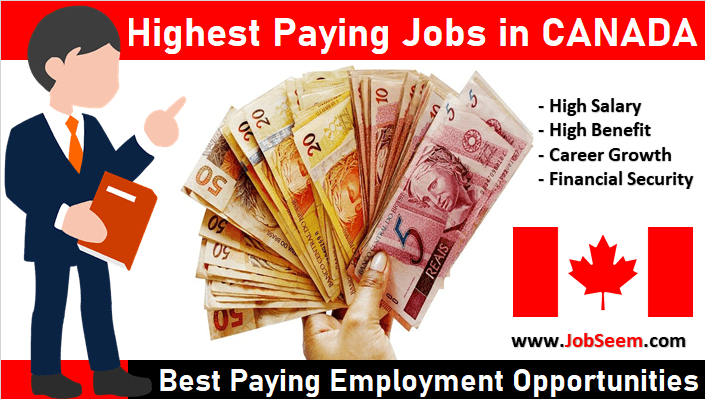 Highest Paying Jobs In Canada Best Most Paid Opening 2021