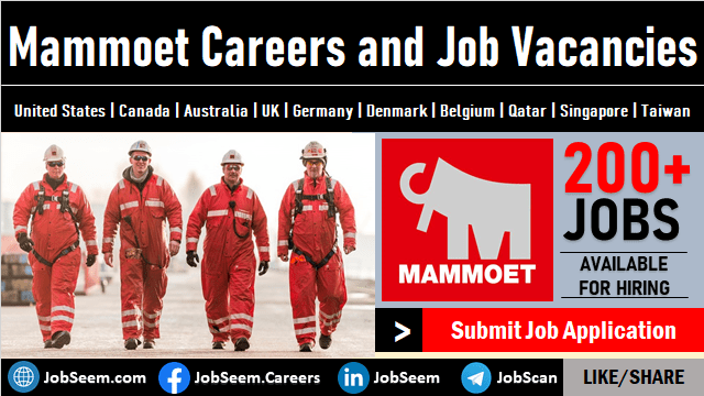 Mammoet Careers Multiple Job Vacancies Worldwide Openings and Direct Staff Recruitment