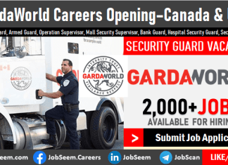 Gardaworld Careers Opening and Vacancies Garda Security Guard Jobs in Canada and United States