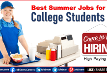 High Paying Summer Jobs for College Students
