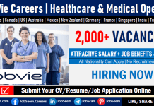 AbbVie Careers, Jobs and Employment Vacancies– Submit an Online Job Application for AbbVie Job Openings