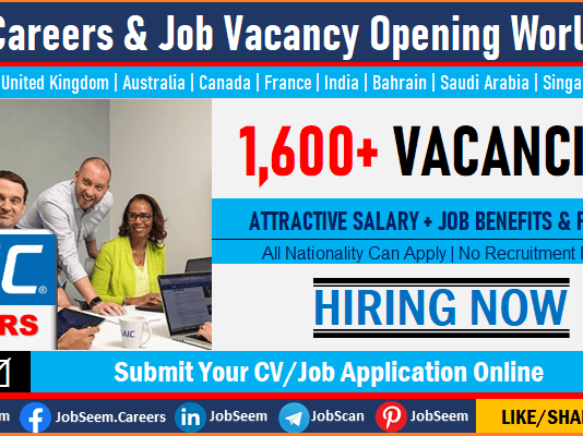 SAIC Jobs and Careers Recruitment, Urgent SAIC Vacancies Available for Freshers Worldwide
