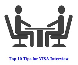 Tips for Visa interview