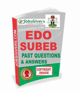 Edo State Subeb Exams Questions