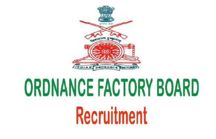 indian ordnance factory recruitment ofb logo