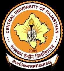 central university of rajasthan curaj logo