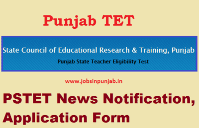 Updated} PSTET 2019 - 20 Notification Exam Date | Direct Link to Apply