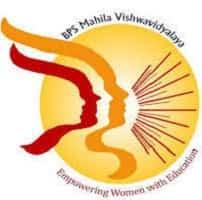 bps mahila vishwavidyalaya logo