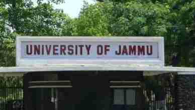 jammu university photo
