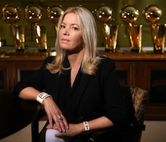 jeanie buss influential women in sports 2018