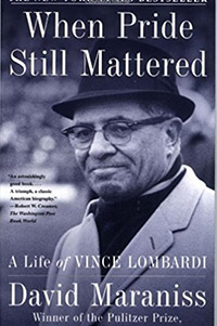 sports management books when pride still mattered vince lombardi