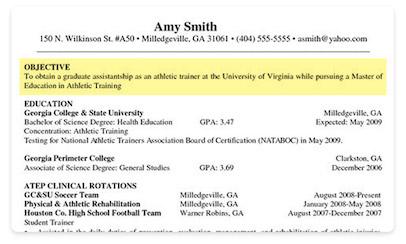 sports management resume samples