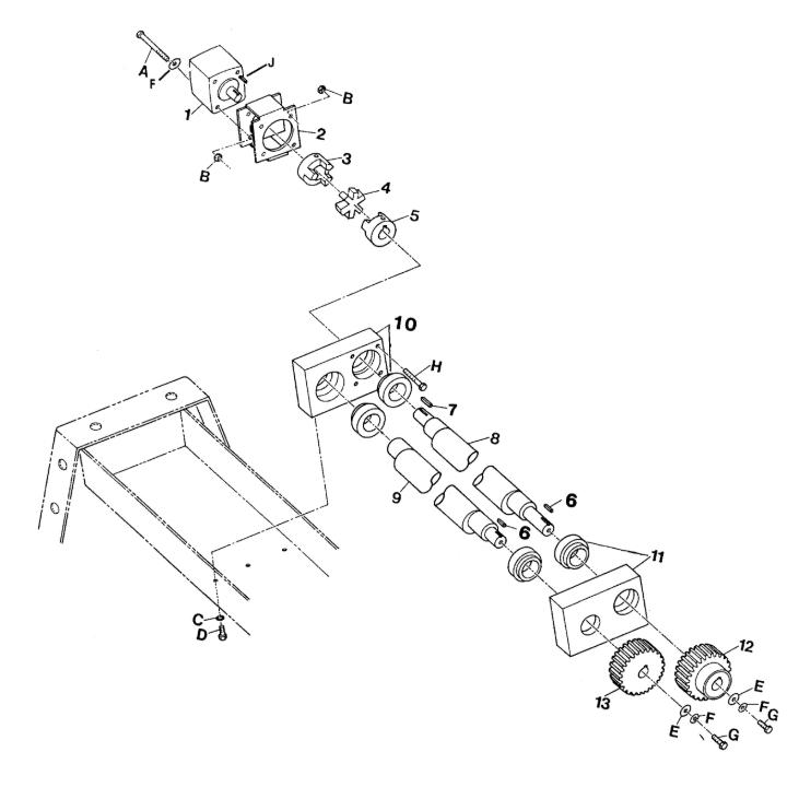 Stone WolfPac 4000 Vibratory Diesel Asphalt Roller Parts