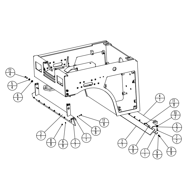 Stone WP6100R WolfPac Vibratory Asphalt Roller Parts