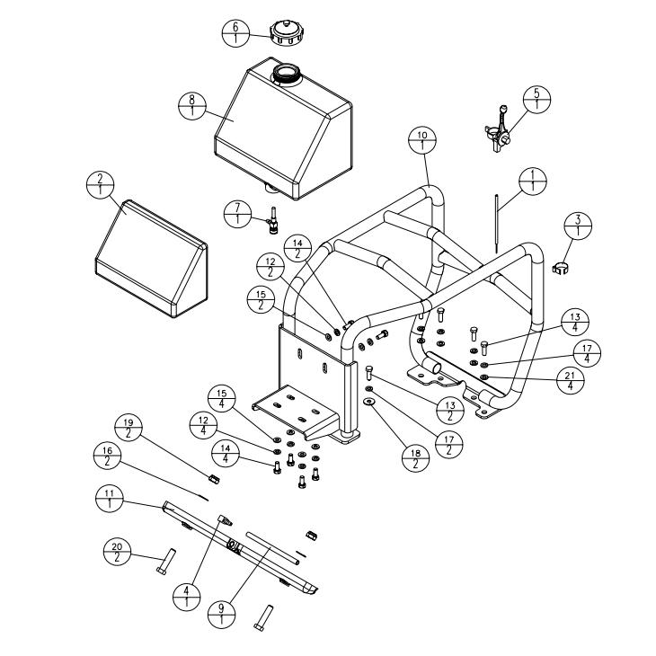 Stone SFP4000A Silver Fox Forward Vibratory Plate