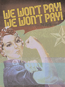 We Wont Pay poster