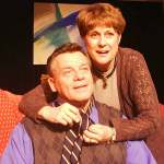 Monica Merryman and Steven Clark Pachosa in Jobsite's The Goat or Who is Sylvia?