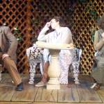 (L-R) Jason Evans, Ami Sallee and Kari Goetz in Jobsite's Woman in Mind.