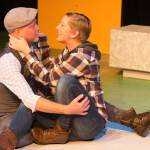 Emily Belvo and Derrick Phillips in Jobsite's As You Like It. (Photo by Pritchard Photography.)
