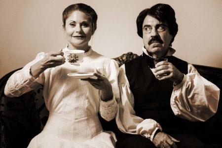Katrina Stevenson and Paul Potenza in Jobsite's Edgar & Emily. (Photo by Pritchard Photography.)