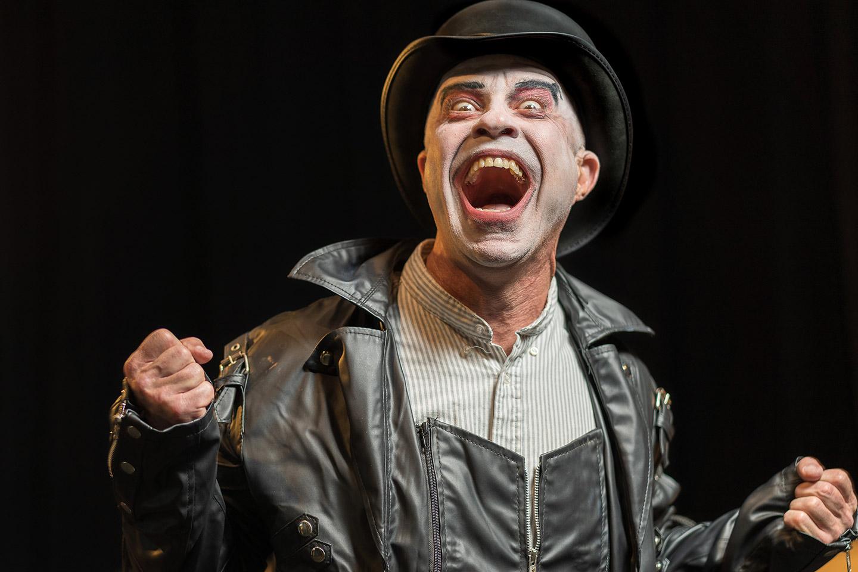 Paul J. Potenza in Jobsite's Shockheaded Peter. (Photo: James Zambon Photography)