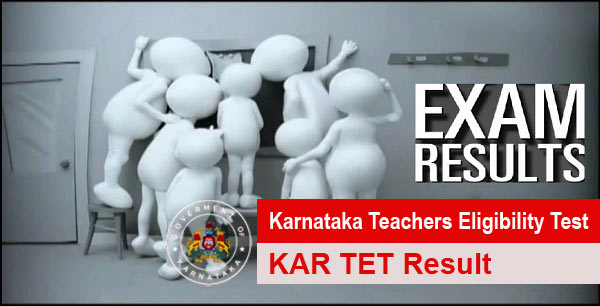 Karnataka TET Result Available at kartet.caconline.in