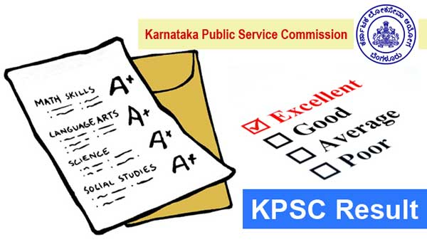 KPSC Result Available at kpsc.kar.nic.in