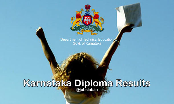 DTE Karnataka Diploma Results Declared on Official Website