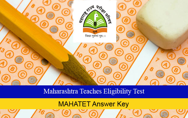 MAHATET Answer Key 2016 Available For June-2016 Exam