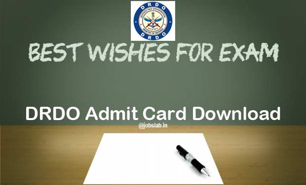 DRDO Admit Card 2016 Available for CEPTAM 8 1142 Technician Posts Exam