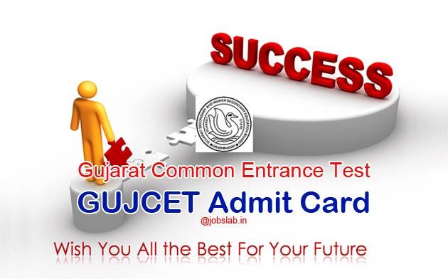 gujcet-admit-card