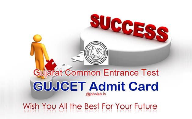 GUJCET Admit Card 2016 Download GUJCET 2016 Hall Ticket