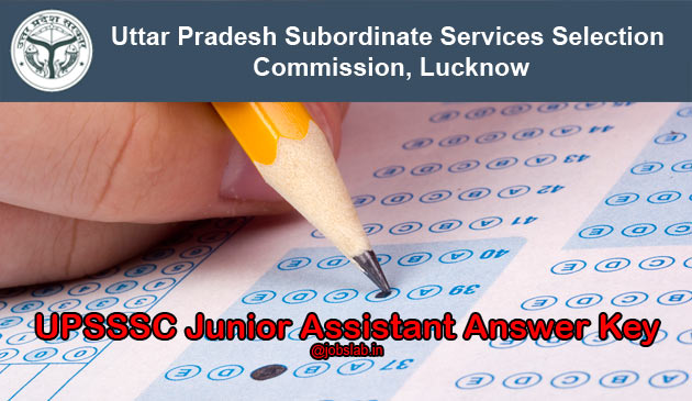 upsssc-junior-assistant-answer-key