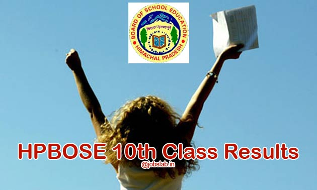 HPBOSE 10th Result 2016 Available - Check HP Board 10th Result 2016