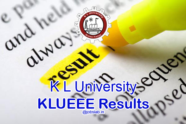 KLUEEE Result 2016 available along with KLUEEE Merit List 2016