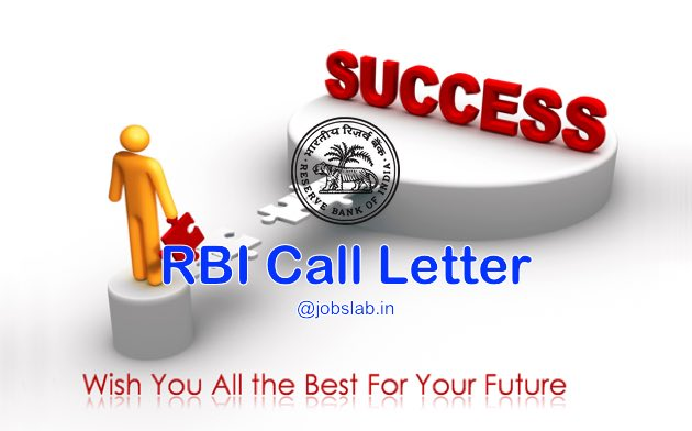 RBI Call Letter 2016 Download RBI Officers Grade B Admit Card