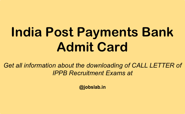 india-post-payments-bank-admit-card