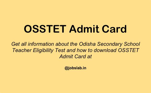 osstet-admit-card