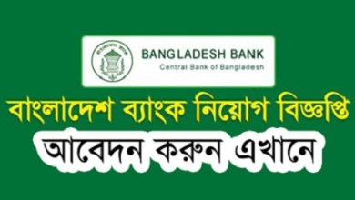 Photo of Bangladesh Bank Job Circular 2020