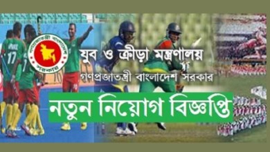 Photo of Ministry Of Youth and Sports Job Circular 2019