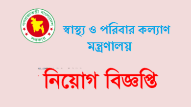 Photo of Ministry of Health and Family Welfare Job Circular 2021