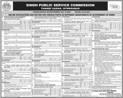 SPSC Headmaster & Headmistress Jobs 2021 Apply Online - Education Department Sindh