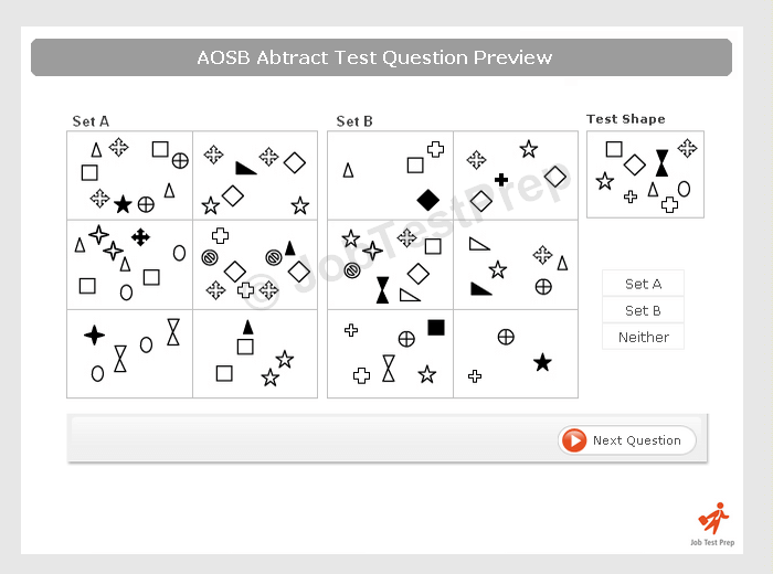 AOSB Briefing, Numerical, Verbal and Abstract Awareness