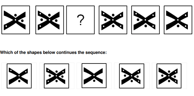 Free Inductive Reasoning Test Examples