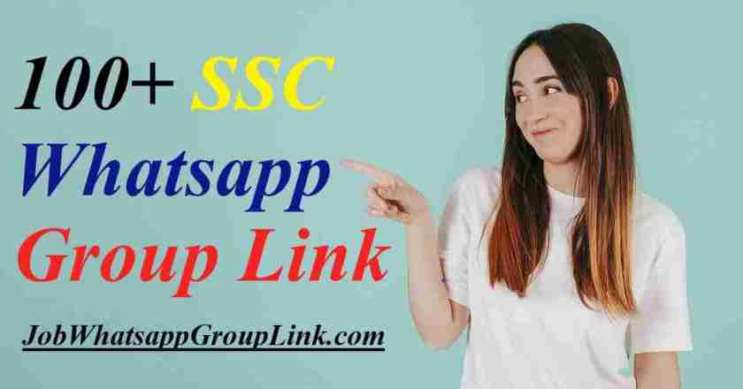 All SSC Exam Job CHSL MTS GD CGL CPO JE Whatsapp Group Join Invite Link 2021