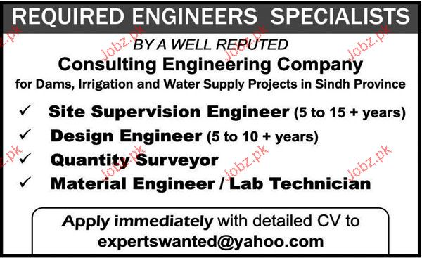 Site Supervision Engineer, Design Engineer Job Opportunity