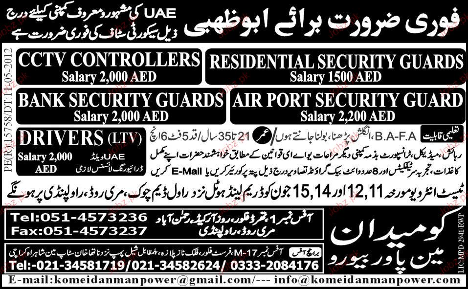 Security Supervisor Security Guards Job Opportunity 2019