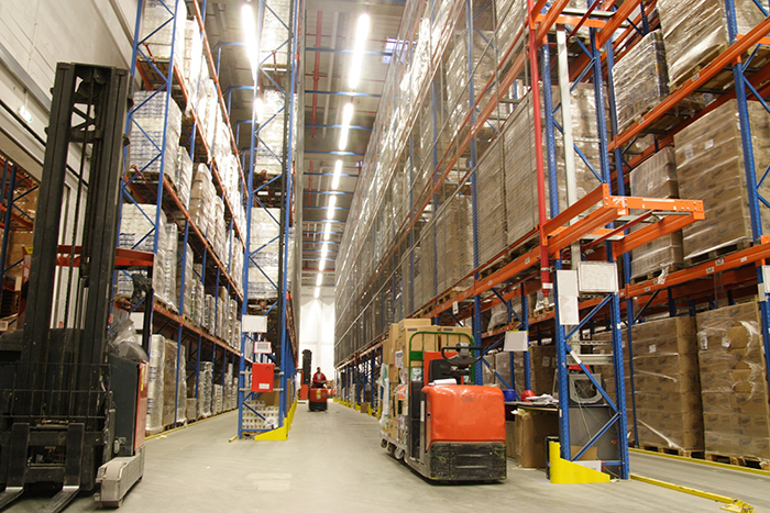 Revenue growth returns at the worlds largest logistics