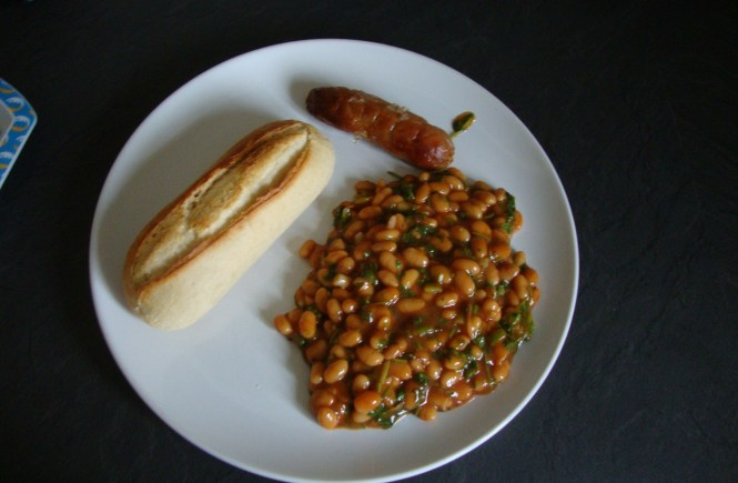 my spicy beans on toast recipe