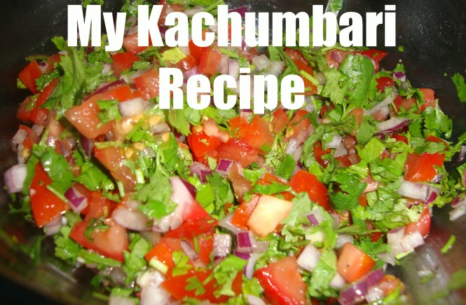 my kachumbari recipe